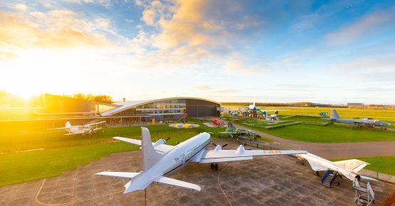 Aviodrome vlakbij vakantiepark